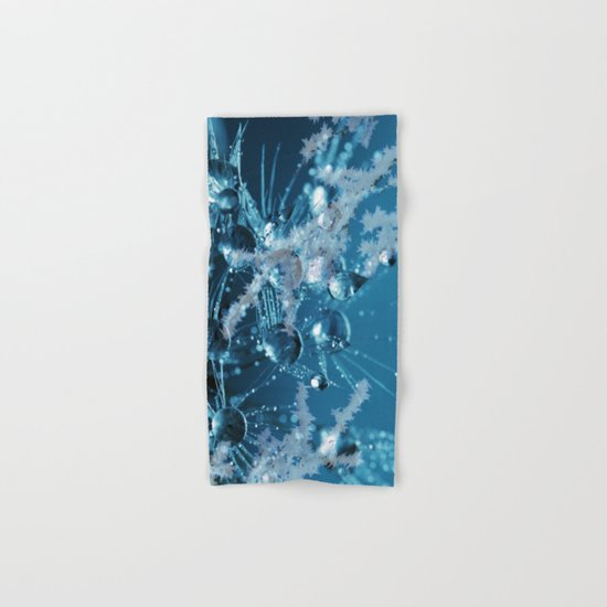 Ice Flower abstract Hand & Bath Towel