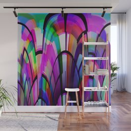 Color Gates Wall Mural
