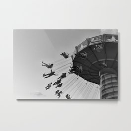 Summer Nights at Navy Pier Metal Print
