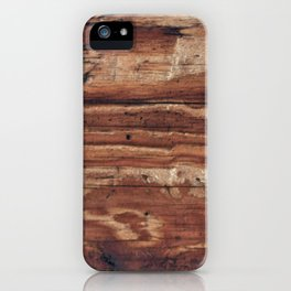 wood Pillow iPhone Case