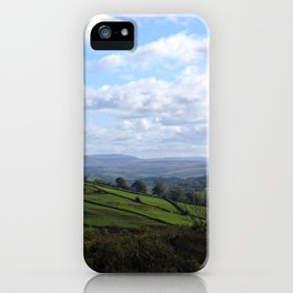 View from Orrest Head, The Lake District - Landscape and Nature Photography iPhone Case