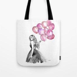 Balloons Pink Tote Bag