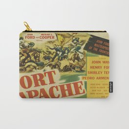 John Wayne in Fort Apache Carry-All Pouch