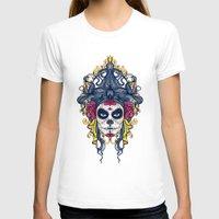 dia de los muertos T-shirts featuring Dia de los Muertos by merci
