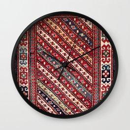 Genje Central Caucasus Rug Print Wall Clock