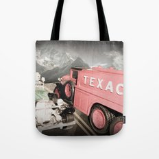 Passing Gas (With a Smile) Tote Bag