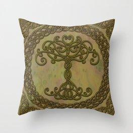Celtic Tree of Life I Throw Pillow
