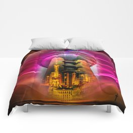 China Art Pearl Tower Comforters