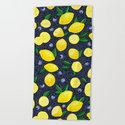 Lemon Blueberry Tart by noondaydesign