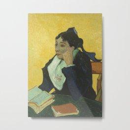 Portrait of Madame Ginoux Metal Print