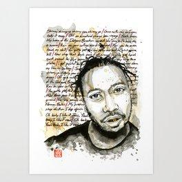 Shimmy Shimmy Ya Art Print