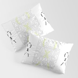 ASCII Ribbon Campaign against HTML in Mail and News – White Pillow Sham
