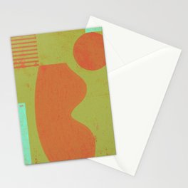 vase and sphere - B Stationery Cards