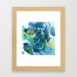 Farben Framed Art Print