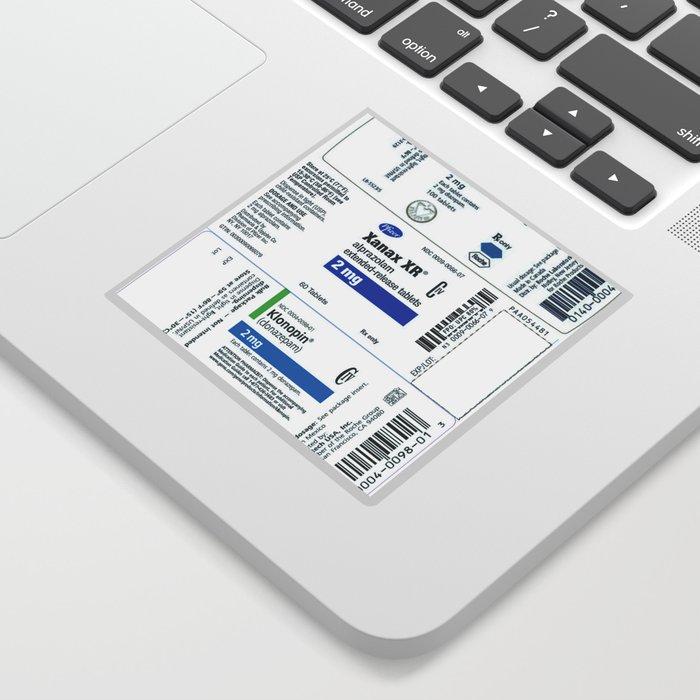 Drug Labels Sticker