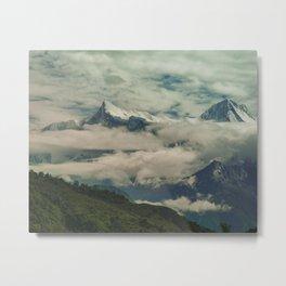 The Call of the Mountain 001 Metal Print