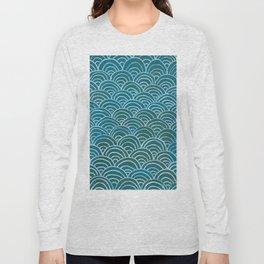 Scallops Long Sleeve T-shirt