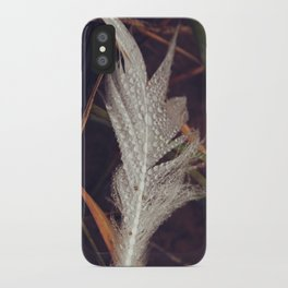 Beach Feathers 3 iPhone Case