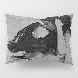 Lesbians B&W Pillow Sham