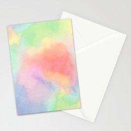 luminous tie dye Stationery Cards