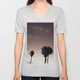 Palmetto Trees Unisex V-Neck