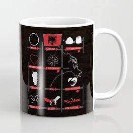 National Anthem of Albania Coffee Mug