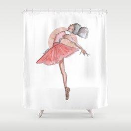 Ingrid Ballerina Shower Curtain