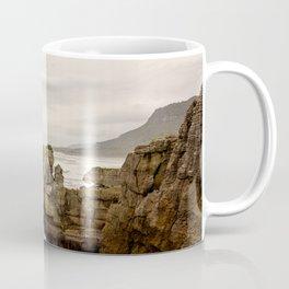 Pancake Rocks- Waves Coffee Mug