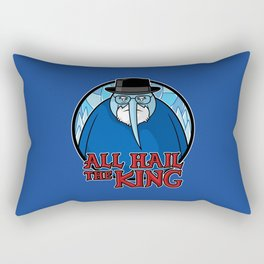 The King of Ice Rectangular Pillow