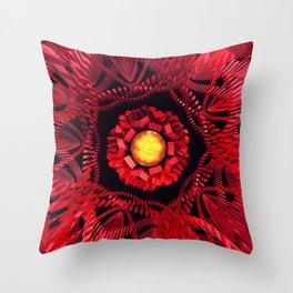 The Sun is the Center Throw Pillow