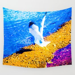 THE TAKE OFF Wall Tapestry
