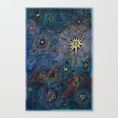 Upon a Midnight Clear Canvas Print