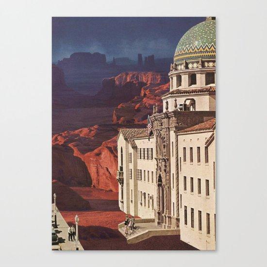 in the desert 2 Canvas Print