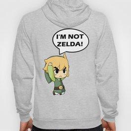 I'm not Zelda! (link from legend of zelda) Hoody