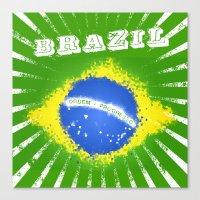 brazil Canvas Prints featuring Brazil  by morganPASLIER