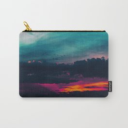 Cotton Candy Skies Carry-All Pouch
