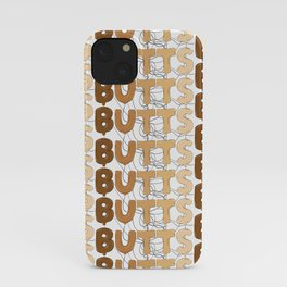 BUTTS Balloons iPhone Case