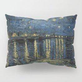 Vincent Van Gogh - Starry Night Over the Rhone Pillow Sham