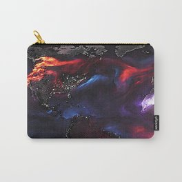 Beauty of Pollution / Aerosol Earth - Western Part Carry-All Pouch