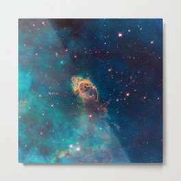 Stellar Jet in the Carina Nebula Metal Print