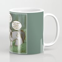 mlp Mugs featuring Fili and Kili ponies MLP The Hobbit Crossover Parody by BlacksSideshow