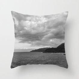Haiti on the Horizon Throw Pillow