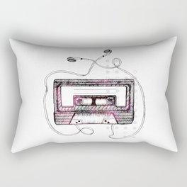 Mixtape Rectangular Pillow