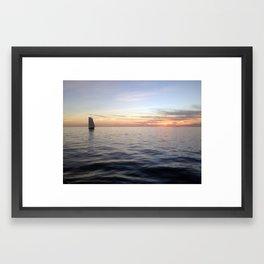 Sailing Key West Framed Art Print