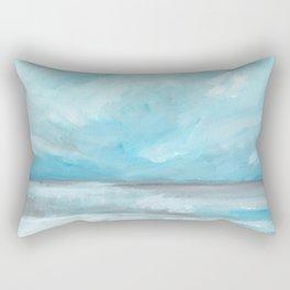 Whirlwind - Stormy Ocean Seascape Rectangular Pillow