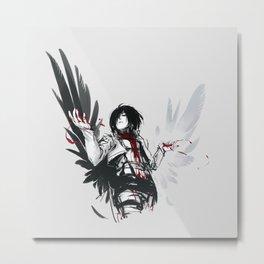 Mikasa Ackerman Feed Metal Print