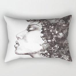 Big hair Rectangular Pillow