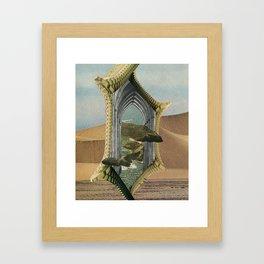 Golden Door Framed Art Print