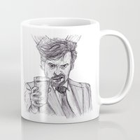 murray Mugs featuring Murray (Prince of Parties) by jamestomgray