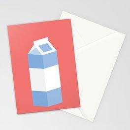 #90 Milk Carton Stationery Cards